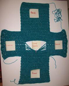 Cats-Rockin-Crochet, Free Crochet and Knit Patterns: Simple Crochet Sweater Size 2