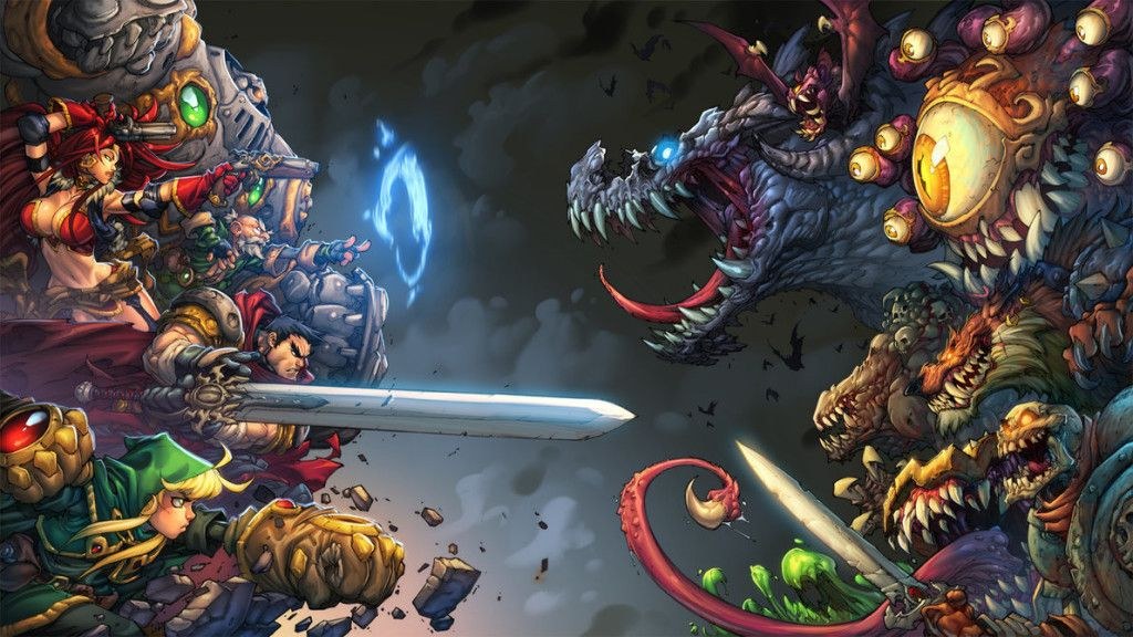 Pin by The Legendary Rawnzilla on Battle Chasers Battle