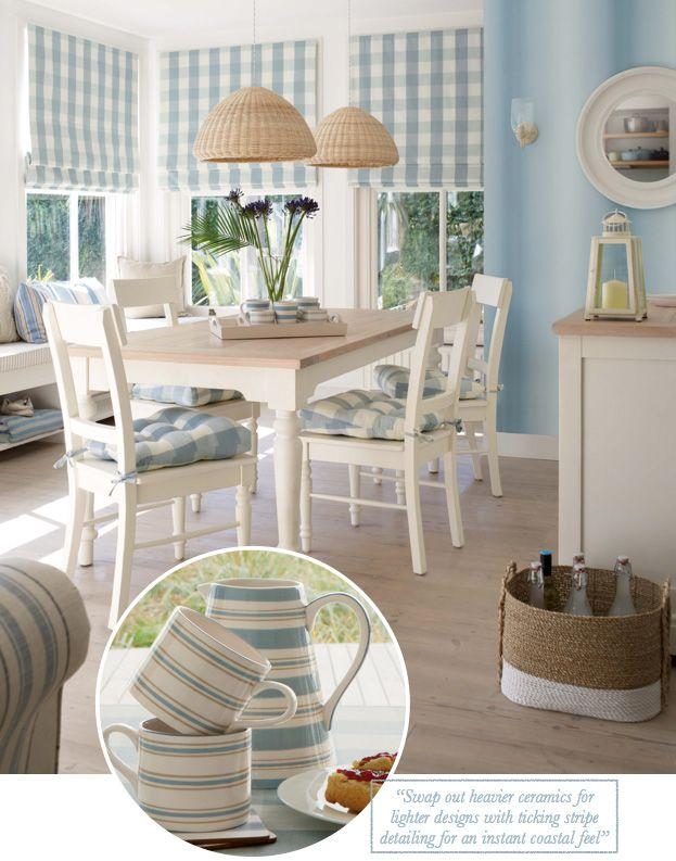Comfortably Coastal Dining Areasmall Diningdinning Tablelaura Ashley