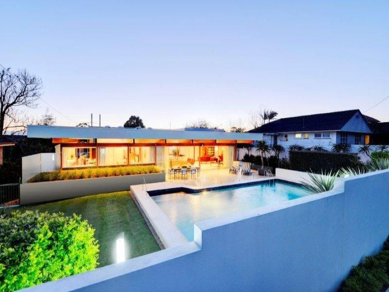 Beautiful Californian Style Flat Roof House Private Residence