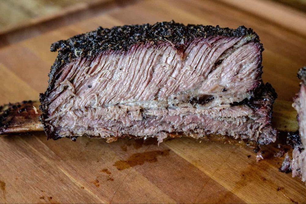 Simple Smoked Beef Chuck Ribs Aka Dino Ribs Smoked Meat Sunday Recipe Smoked Beef Smoked Beef Short Ribs Beef Ribs