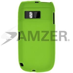 Amzer Silicone Skin Jelly Case - Green