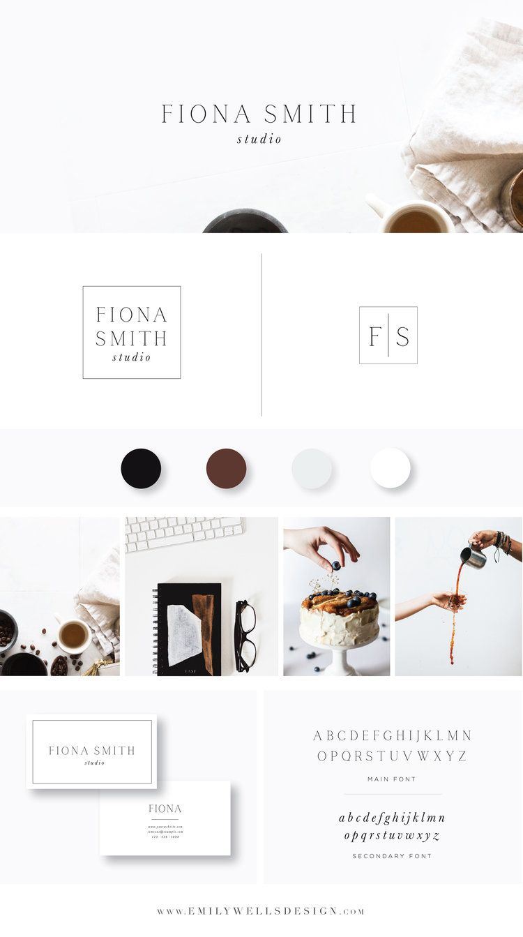 Emily Wells Design Build Your Brand Collection Brand Collection Budget Friendly Premade Logo Desi Branding Design Logo Design Feminine Brand Board Design