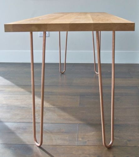 Ebay Set Of 4 Copper Hairpin Legs 72cm Great For Creating A Desk