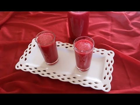 شهيوات و حلويات الطبخ الاصيل Tabkh Assil افضل طريقة لتحضير كوكتيل عصير الباربا الشمندر 25th