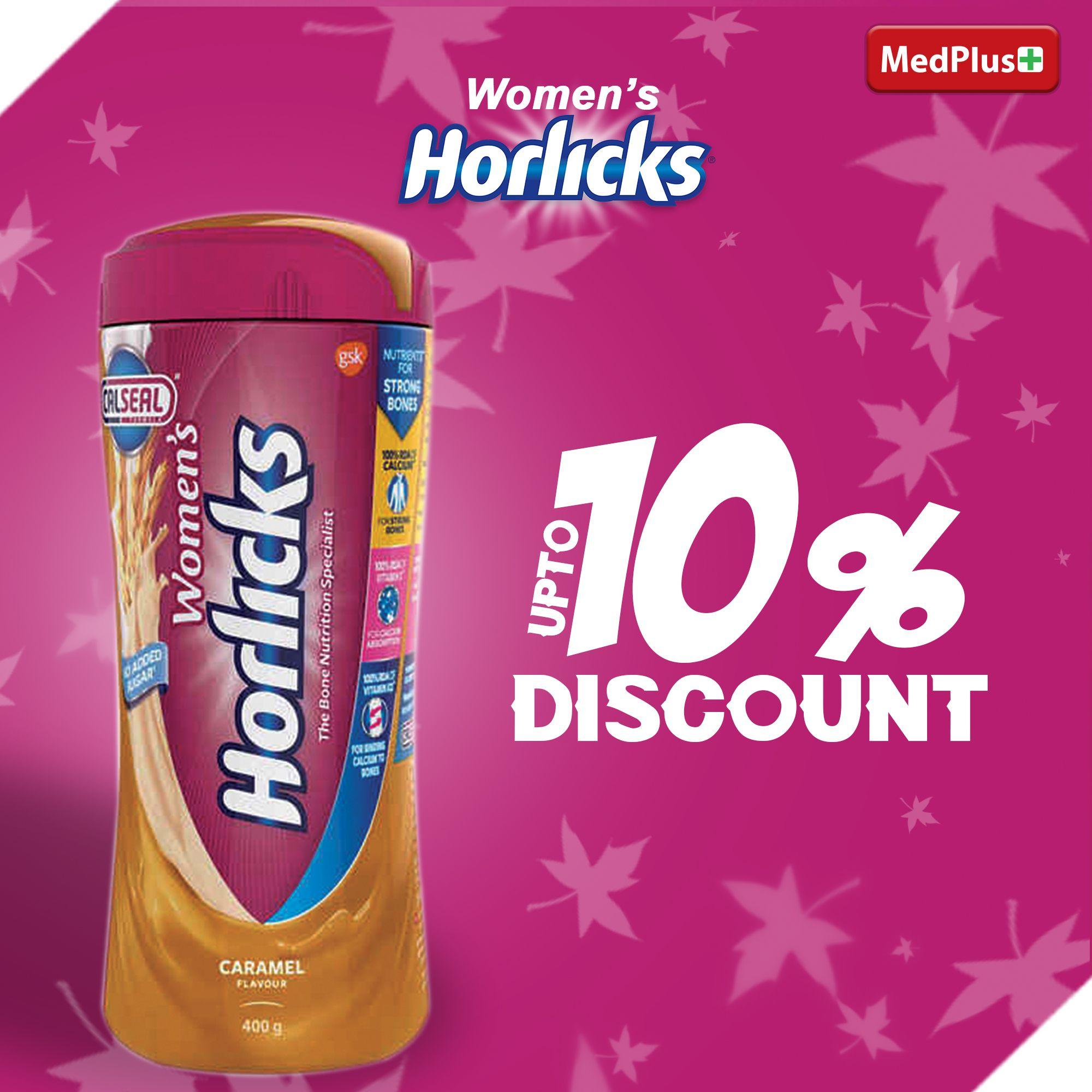 Womens horlicks caramel powder jar 400gm (With images