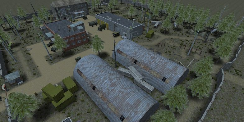 Top Down Apocalyptic World Volume 2 Military Base Sponsored