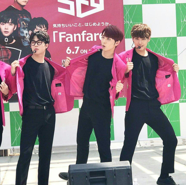 Dawon, Jaeyoon & Inseong // SF9