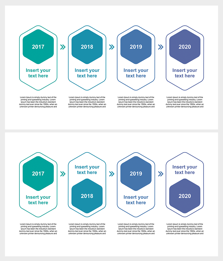 PowerPoint timeline graphic | PowerPoint Elements for