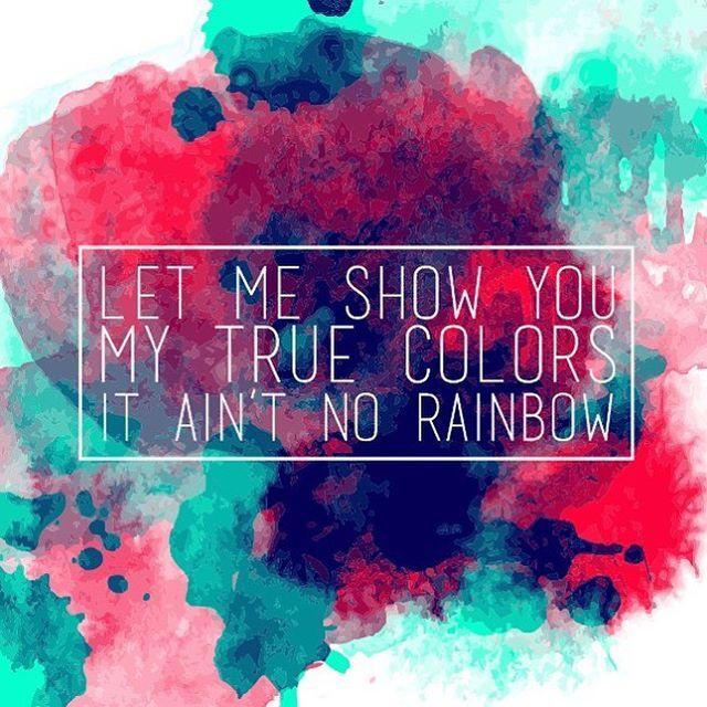 Let Me Show You My True Colors It Ain T No Rainbow Kesha Zedd