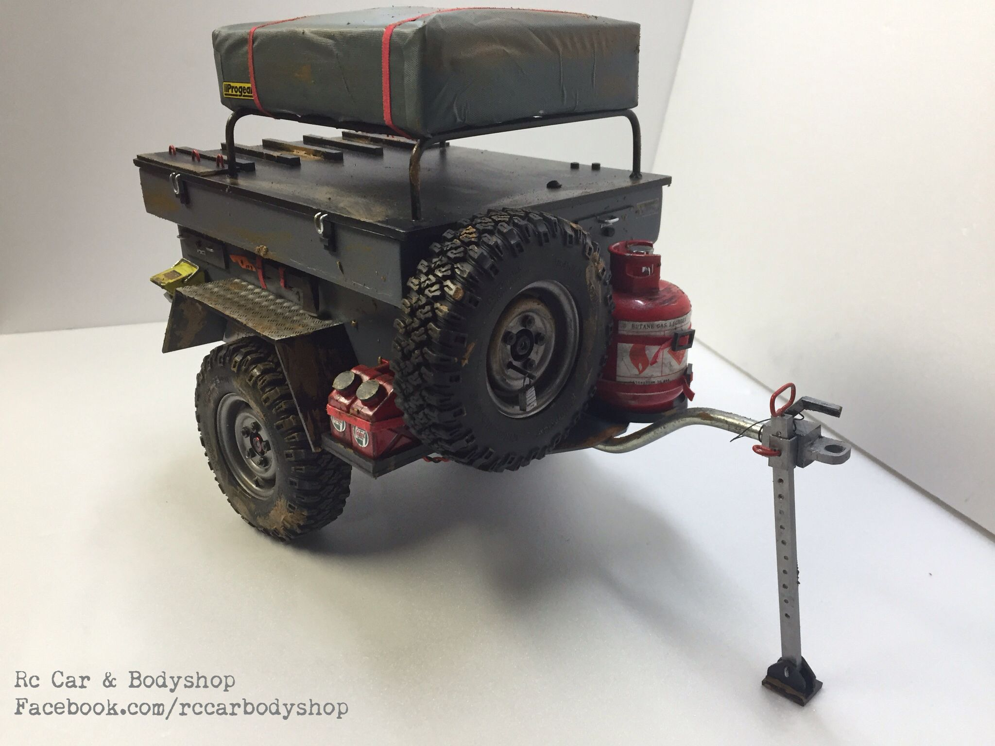 1 10 Scale Off Road Trailer Facebook Com Rccarbodyshop Jeep Trailer Off Road Trailer Willys Jeep