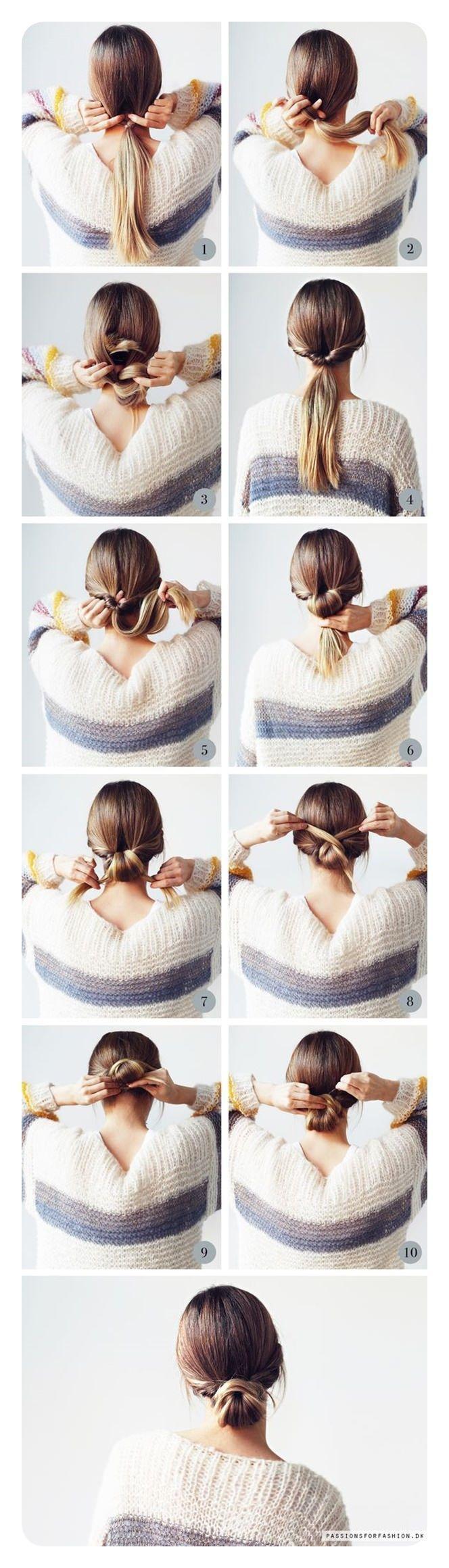 87 Easy Low Bun Frisuren Und Ihre Schritt Fur Schritt Anleitungen Anleitungen Bun Easy Frisuren Fur Ihre Hair Styles Long Hair Styles Low Bun Hairstyles