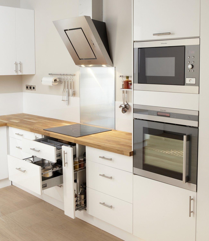La cuisine Rio blanc  Leroy Merlin en 10  Meuble cuisine blanc