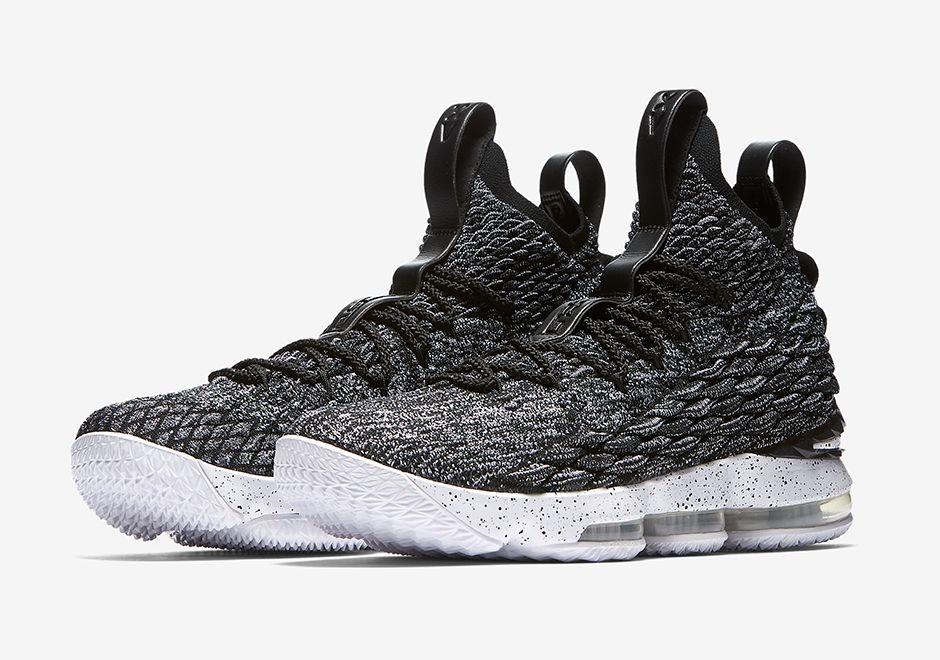 New Nike lebron 15 Black Dreaming Swoosh Red Shoes