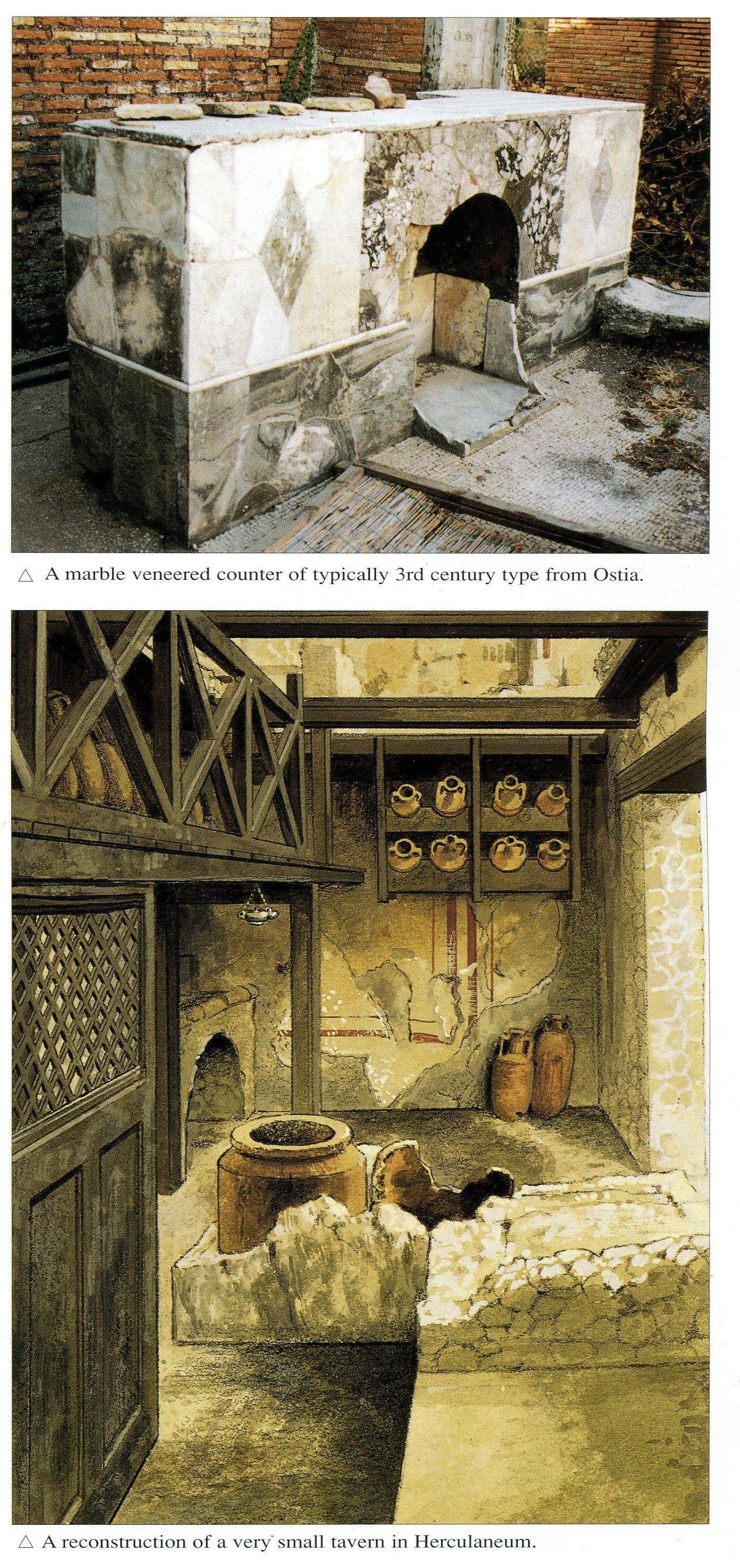 Examples Of Roman Bars Roman History Ancient Romans Ancient