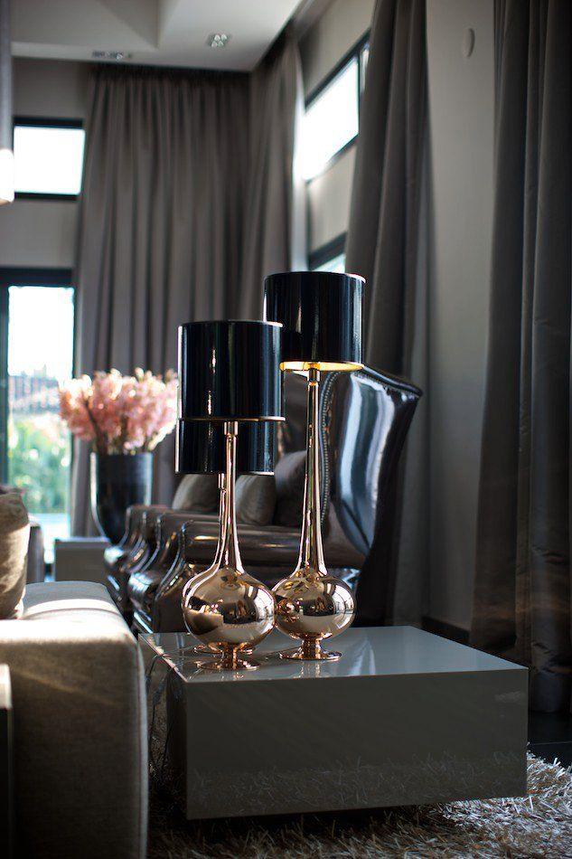 Eric Kuster Lamps #black #gold #grey #lux #luxurious #sleek ...