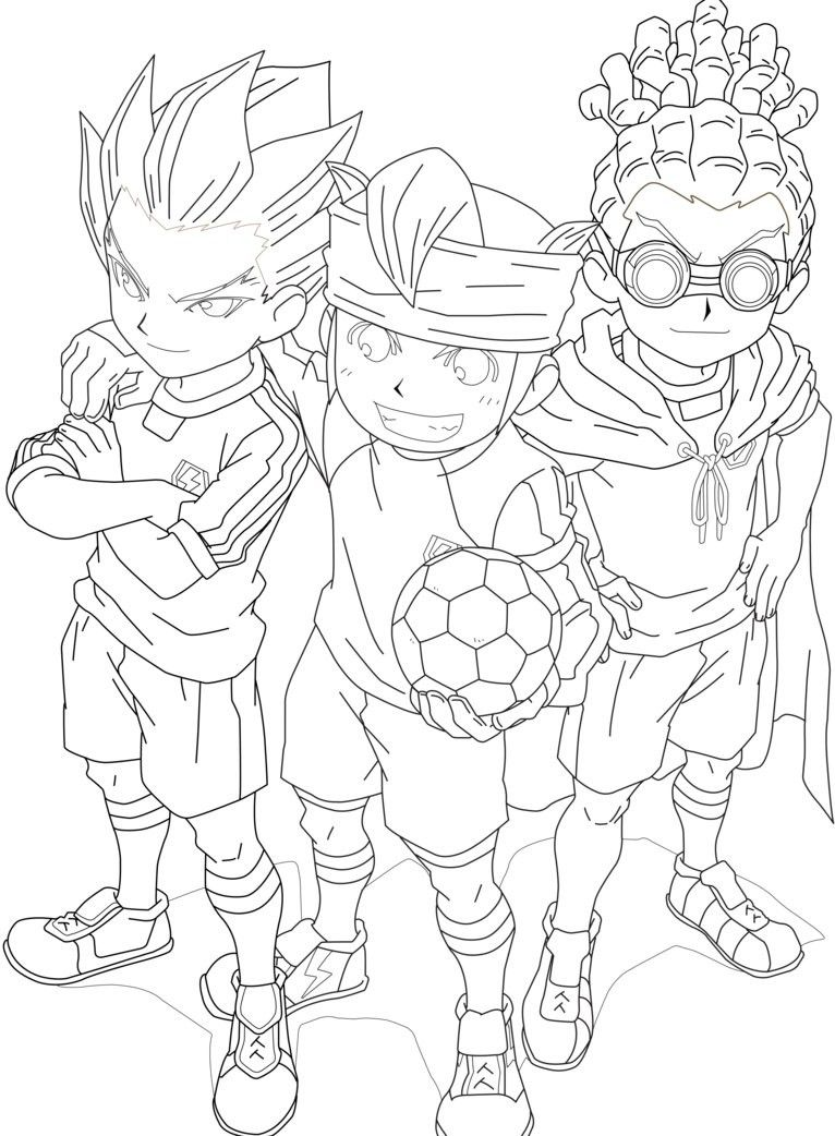 Inazuma eleven colouring pages page 2 - Explore Coloring Pages Children And More Inazuma Eleven