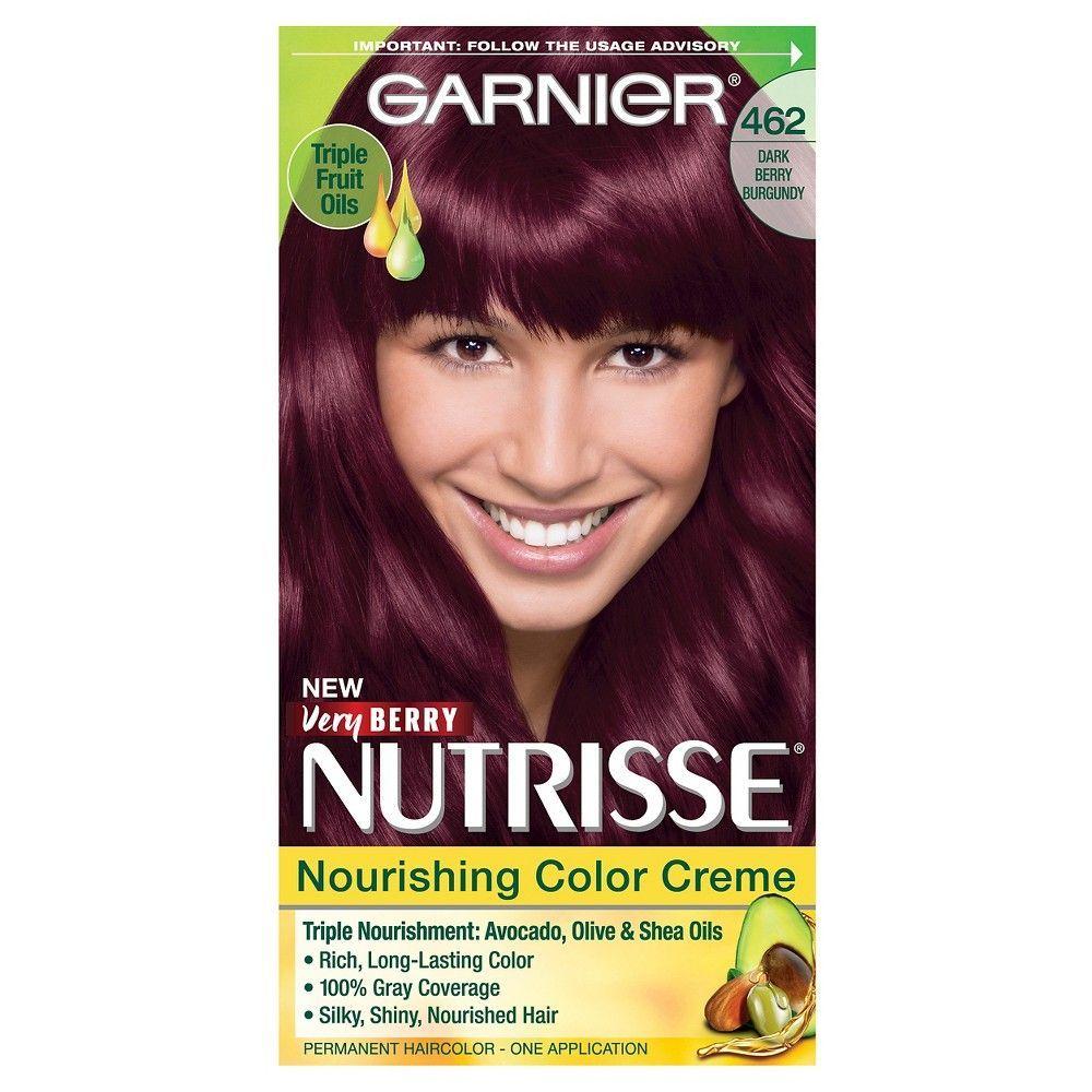 Garnier Nutrisse Nourishing Color Creme Dark Berry Burgundy 462 462