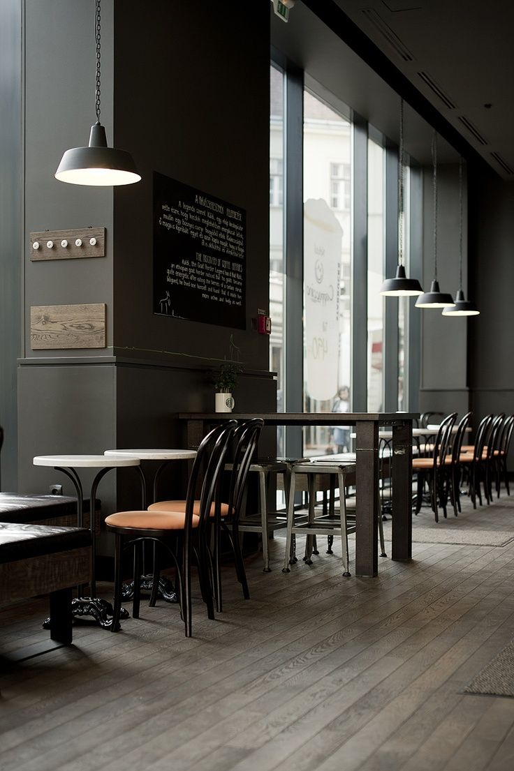 budapest this cafe looks very modernized with its more modern looking feel colour and furniture the amount of natural light also helps add to the - Light Hardwood Restaurant Decoration