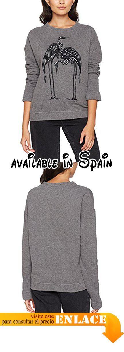 Pepe Jeans London Catt, Sudadera para Mujer, Gris (Grey Marl), XX-Small