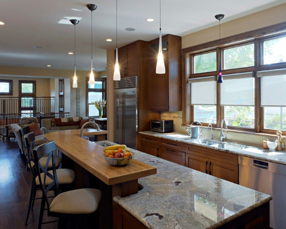 houzz kitchens kitchen lighting ideas houzz - Lighting Ideas For Kitchen