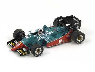 Alfa Romeo 184T No. 22 (Riccardo Patrese - 3rd Italian GP 1959) in Green (1:43 scale by Spark S3871)