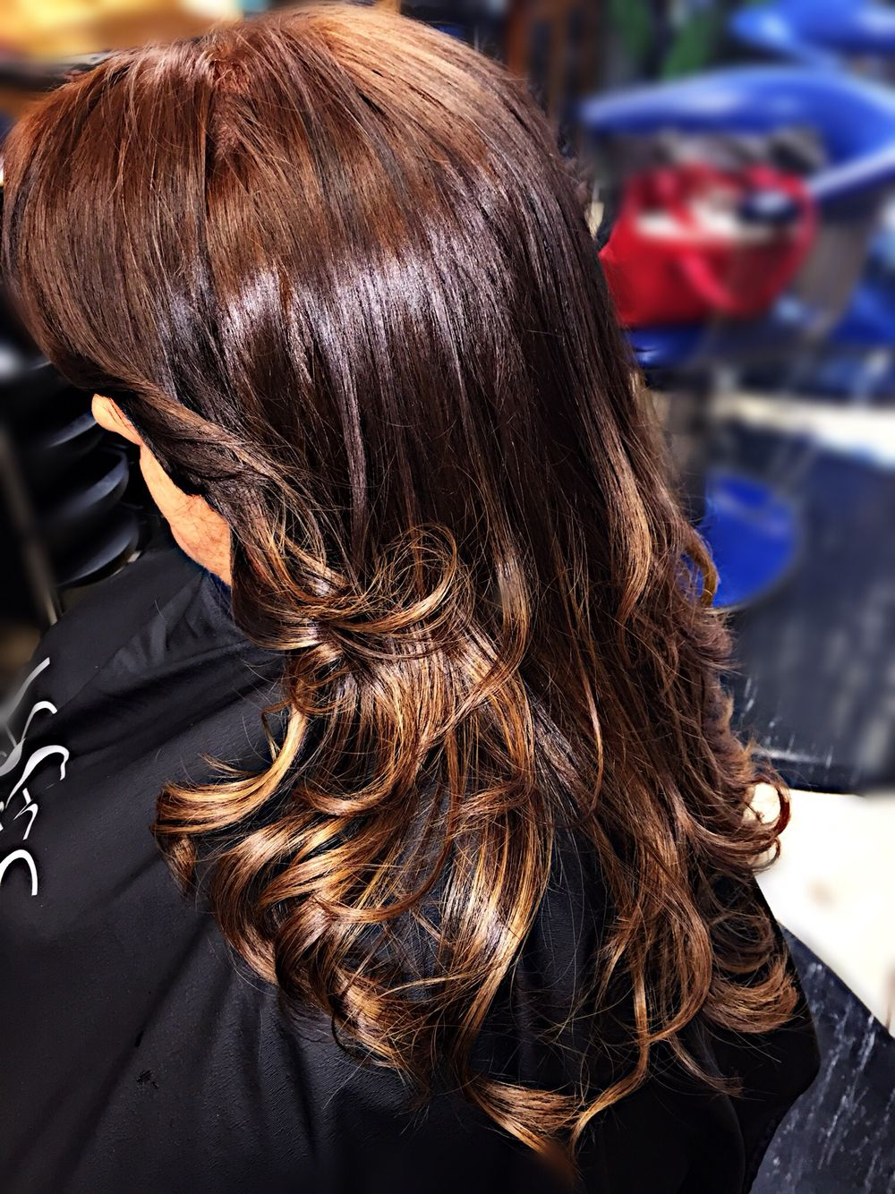 Matrix Socolor Medium Mocha With Highlights Hair Color