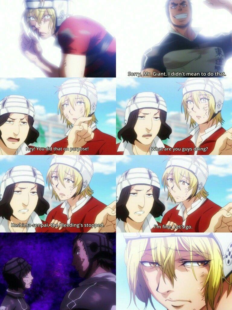 Please save him Kashima. All Out!! Anime, Sports anime
