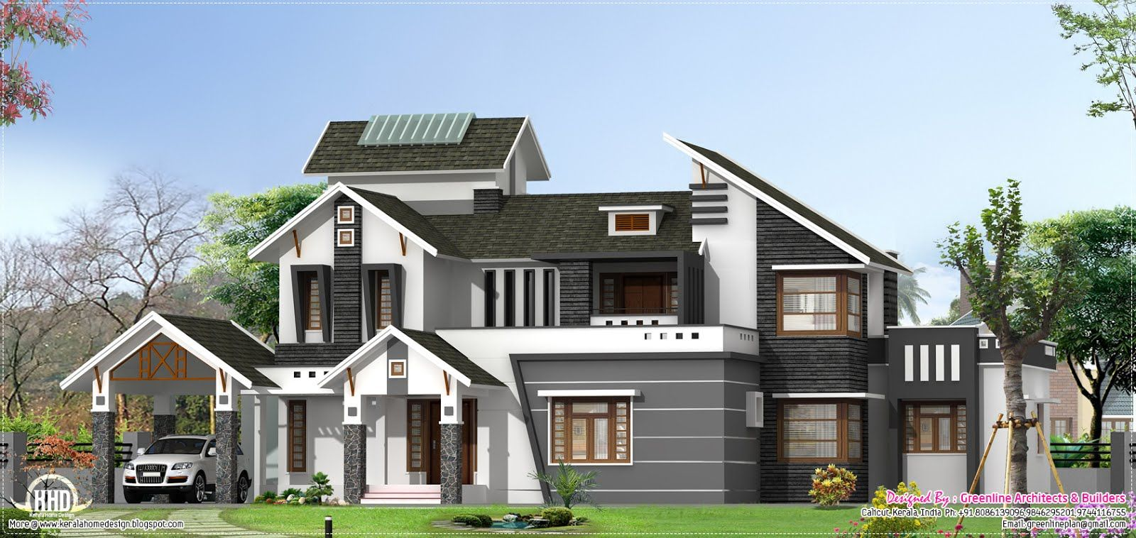 Architecture Design Kerala Model modern home design pertaining to modern house designs home