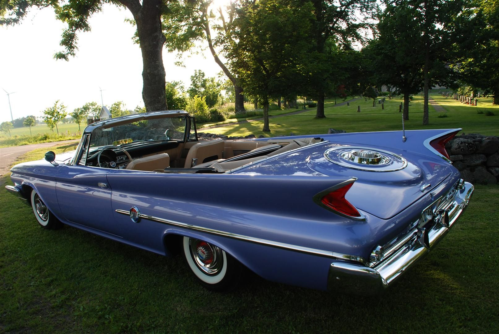 1960 chrysler 300f convertible with it 39 s wheel well trunk. Black Bedroom Furniture Sets. Home Design Ideas