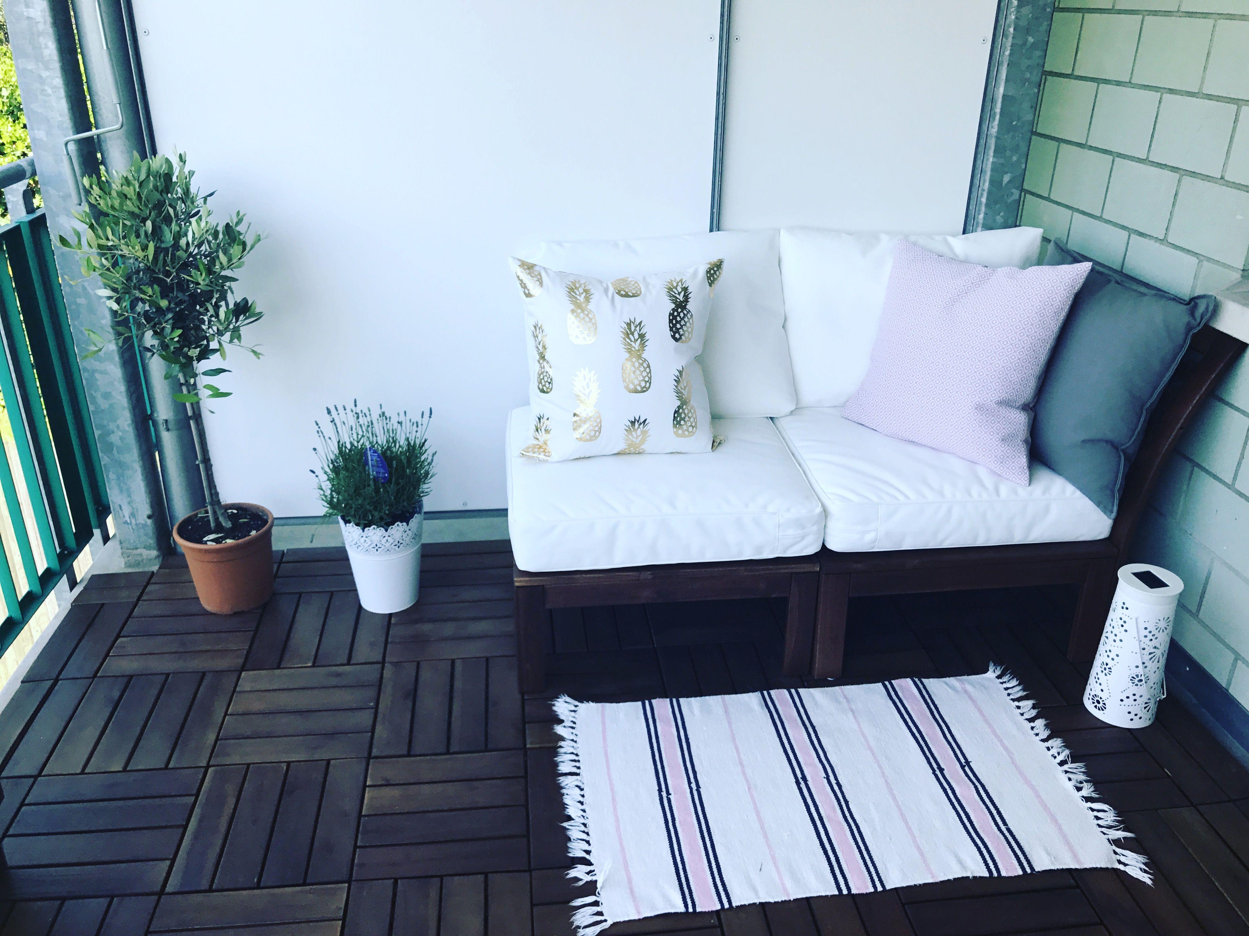 IKEA Applarö cute pillows H&M Balkon Pinterest