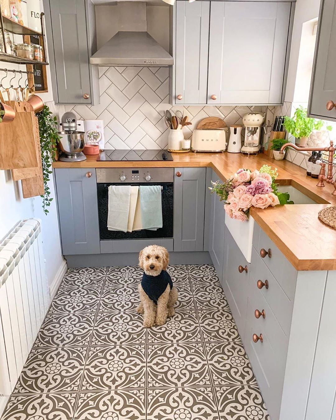 hippie tribe on instagram via my homely decor in love with everything in this kitchen by on kitchen decor hippie id=11600