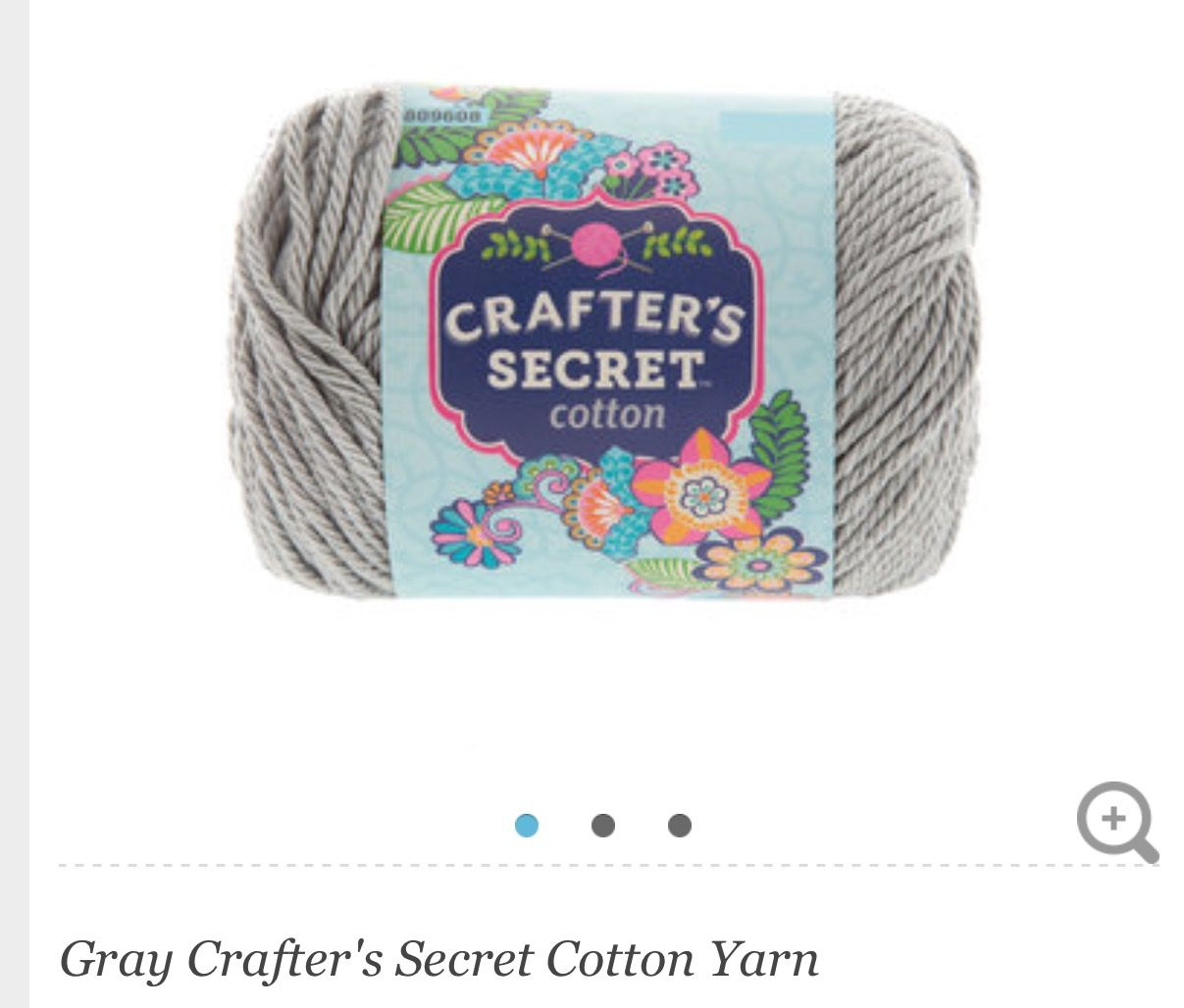 Crafter's secret cotton (gray) | Yarn colors | Yarn colors