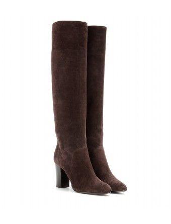 #lanvin - suede knee boots