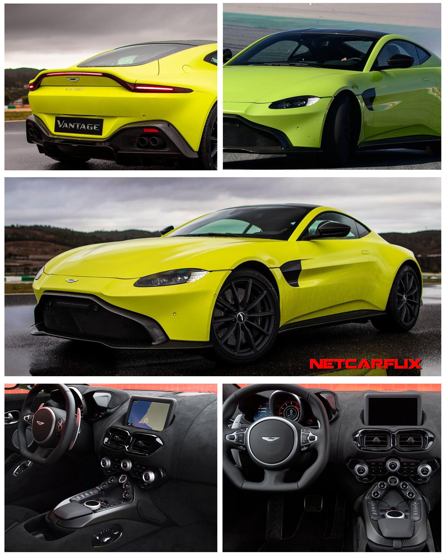 2019 Aston Martin Vantage Lime Essence - Dailyrevs