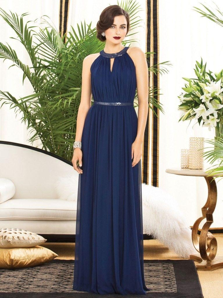 Navy blue bridesmaid dresses with sleeves wedddinggg blisssuc