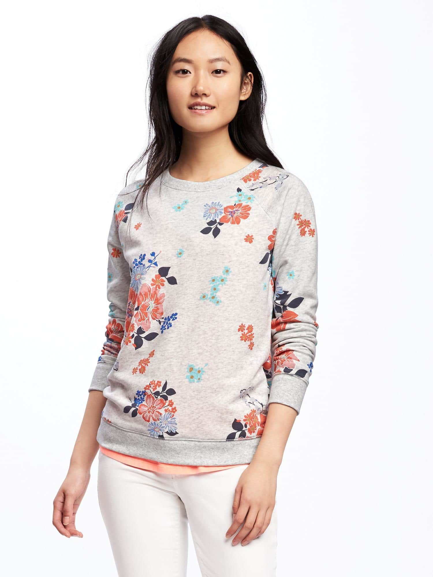 9016c450f9f4f Relaxed Vintage Fleece Sweatshirt for Women | Old Navy | Clothes ...