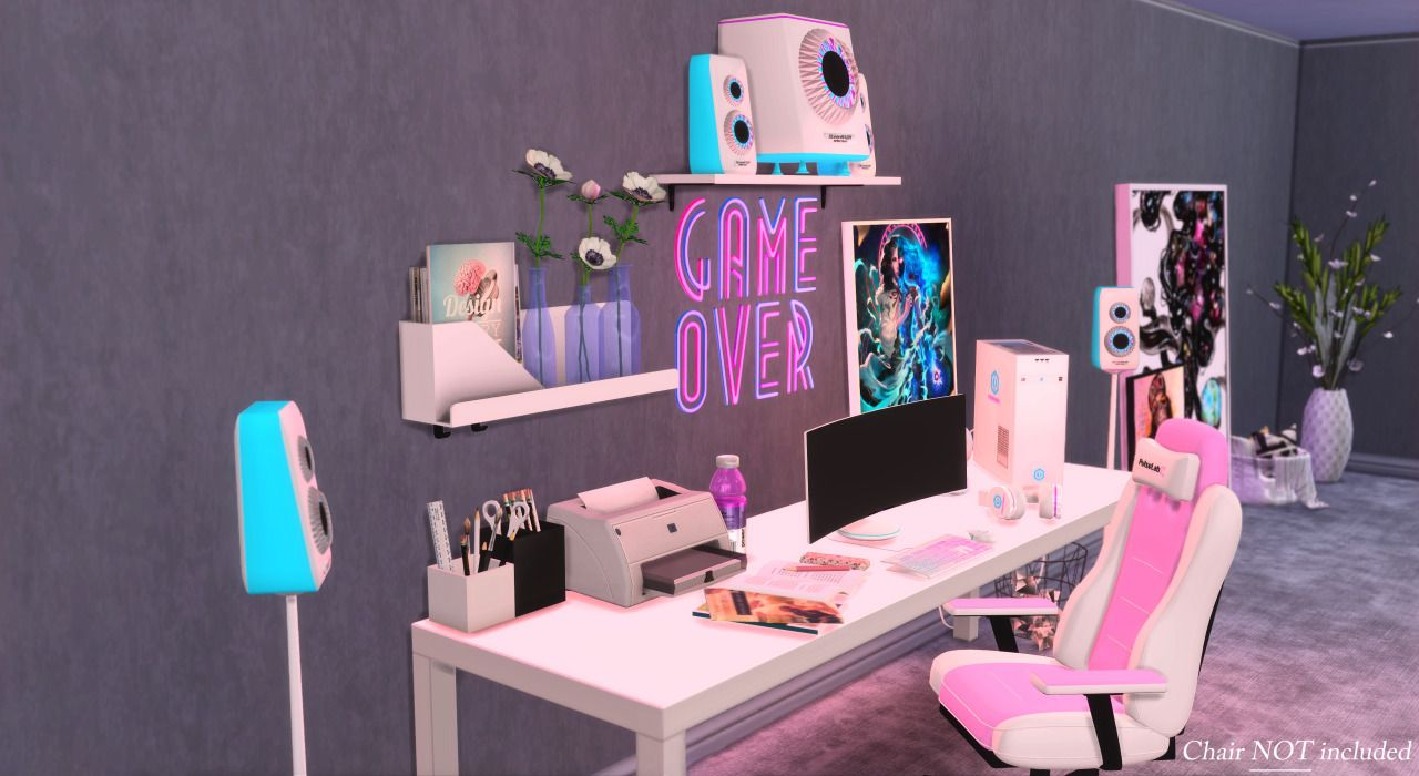 BuilditYourself Gaming Set in 2020 Sims 4 game, Sims 4