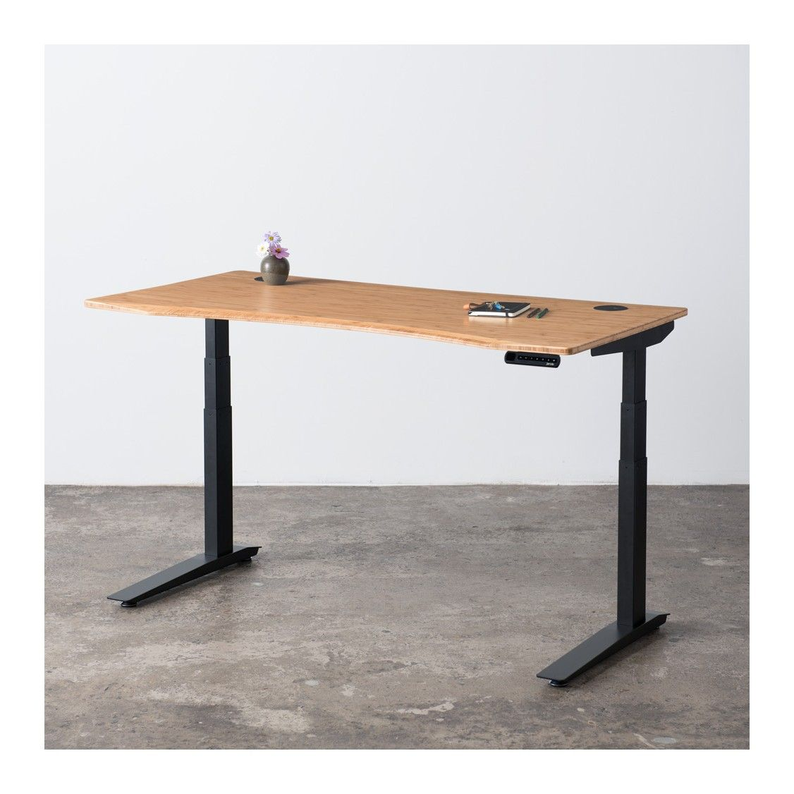 Awesome Jarvis Bamboo Standing Desk Ergo Depot Products Desk Download Free Architecture Designs Sospemadebymaigaardcom
