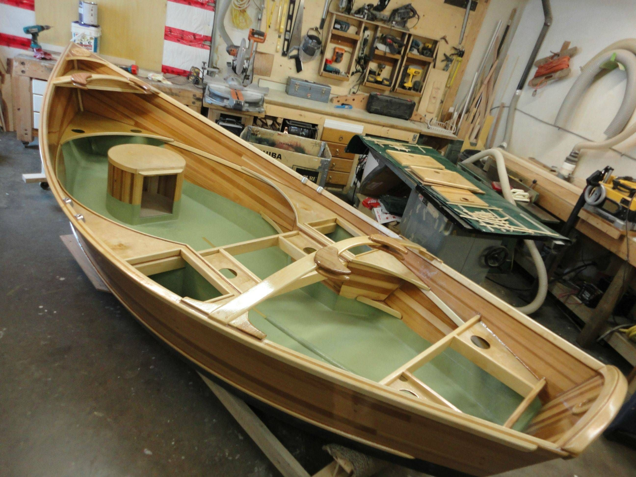 Home built jet dinghy s from new zealand boat design forums - Awesome Drift Boat In Progress