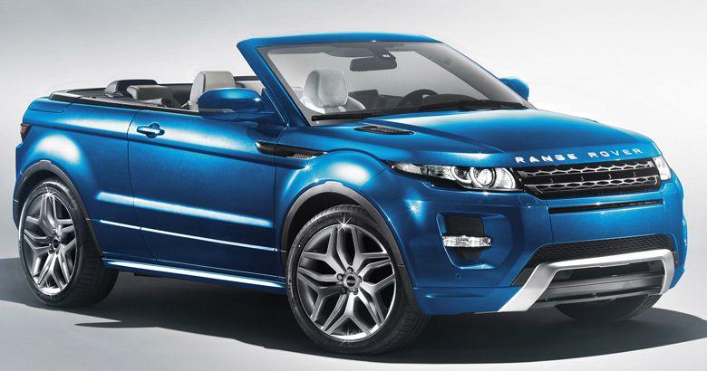 Range Rover Evoque Cabrio Range Rover Evoque Convertible Range Rover Evoque Range Rover