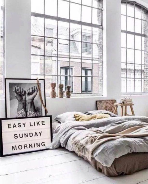 bringing new york loft style into the bedroom | bedroom vintage