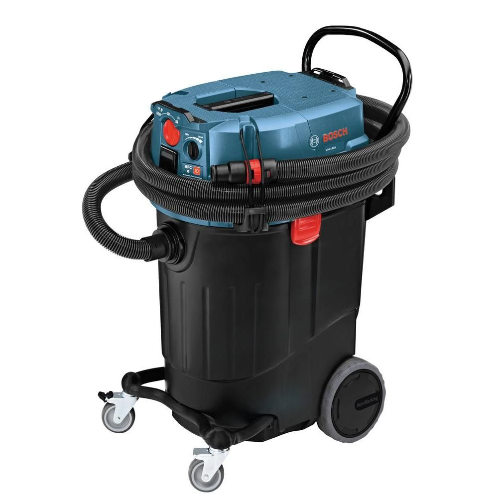 Bosch 14 Gallon Corded Wet Dry Dust Extractor Vacuum With Automatic Filter Clean Vac140a Dust Extractor Hepa Filter Cleaning Dust