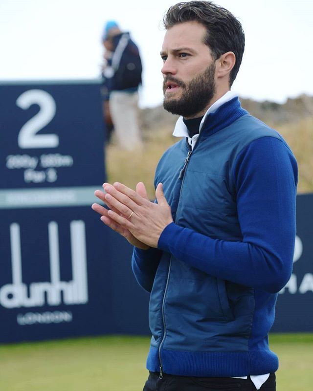 Jamie playing the 2nd Round of Alfred Dunhill Links Championship today (October 6, 2016) #jamiedornan #alfreddunhilllinks #alfreddunhill