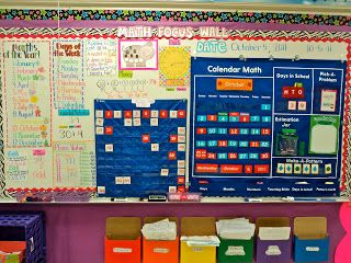 First Grade Fresh Math Focus Walls Classroom Pictures First
