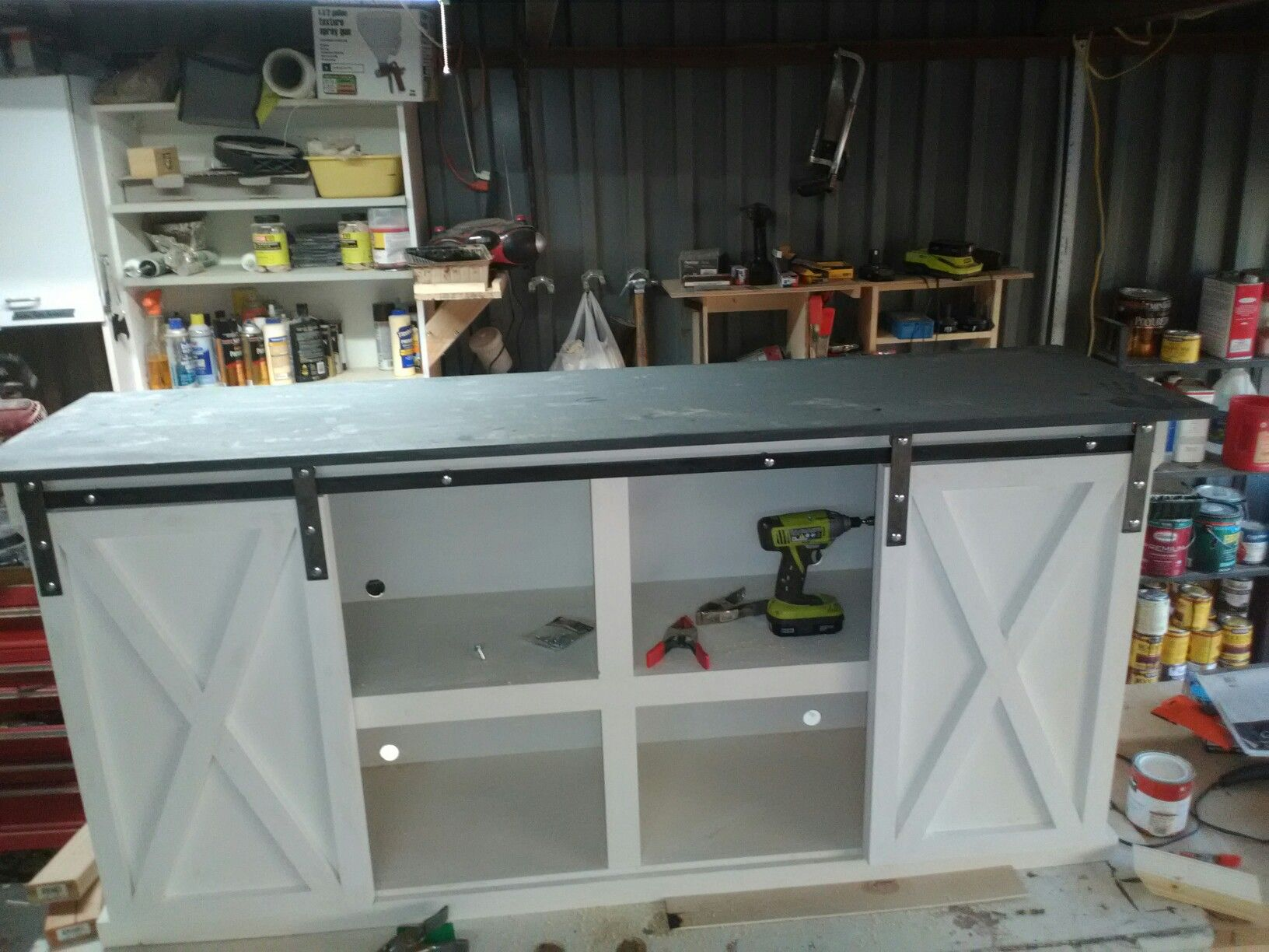 Pin by Scott & Son Woodworking on barn door consoles ...