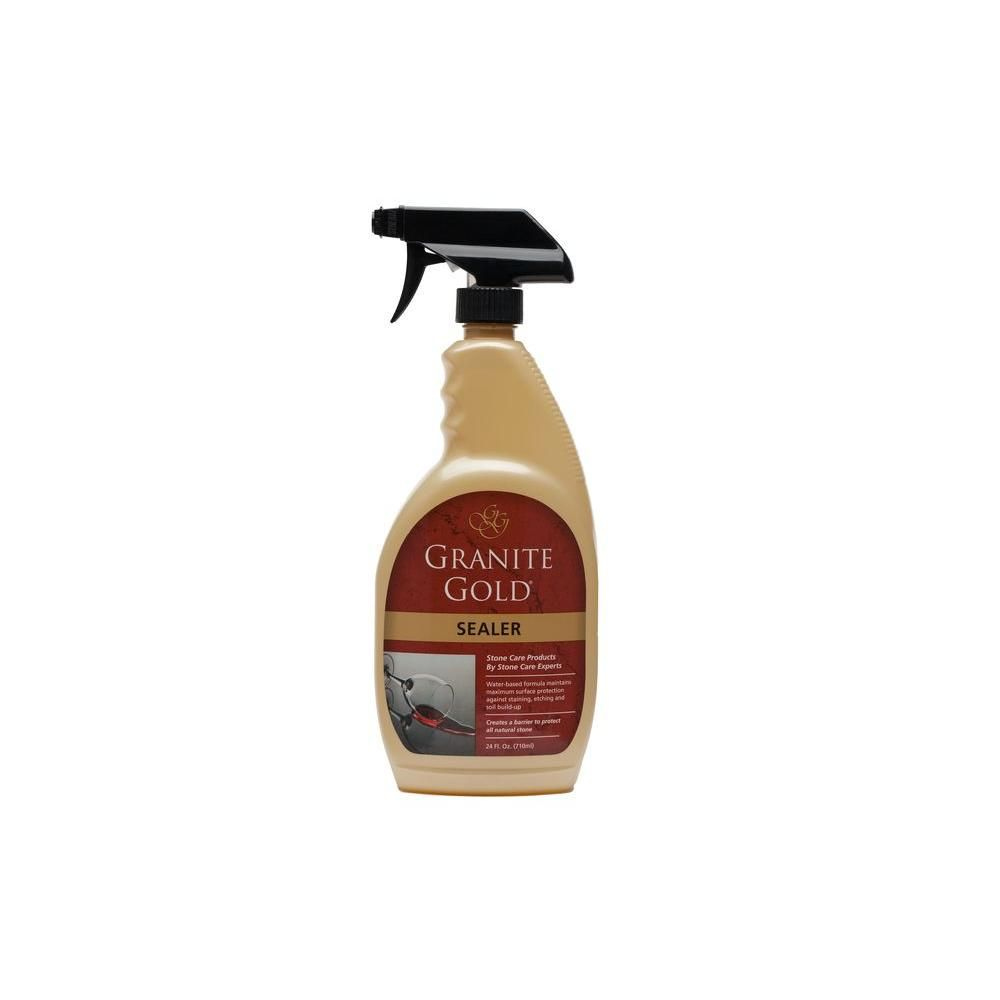 Granite Gold 24 Oz Countertop Liquid Sealer Gg0036 The Home
