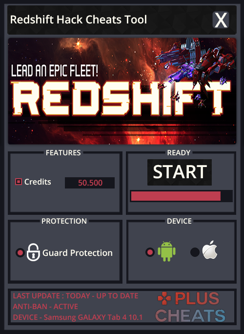 INSTRUCTIONS FOR REDSHIFT HACK :– Download the new Redshift Hack