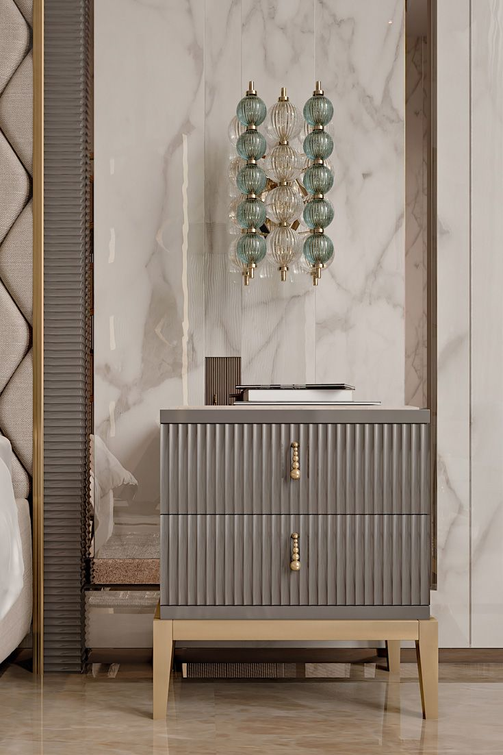 Italian Art Deco Inspired Designer Lacquered Bedside   Juliettes Interiors is part of Art deco bedroom - Italian Art Deco Inspired Designer Lacquered Bedside at Juliettes Interiors