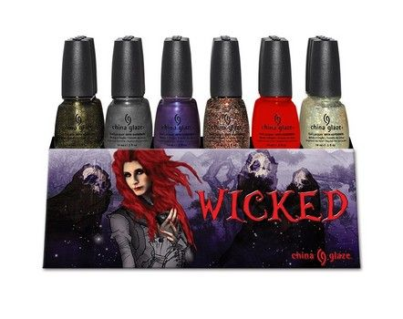 Artist Abigail Larson created this design and did not receive credit for it from China Glaze.